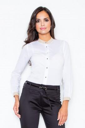 Košeľa s dlhým rukávom model 111736 fL