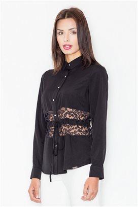 Košeľa s dlhým rukávom model 60186 fL
