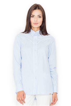 Košeľa s dlhým rukávom model 61517 fL