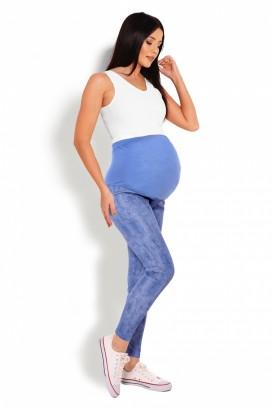 Tehotenské legíny jeans modrá model 125822 Pb
