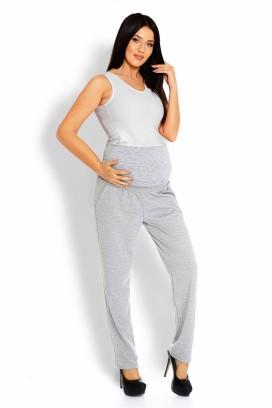 Tehotenské teplákové nohavice šedá model 126079 pb