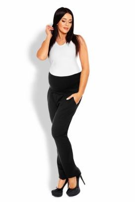 Tehotenské teplákové nohavice čierna model 126082 pb