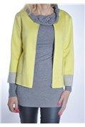 Žltý kabátik krátky