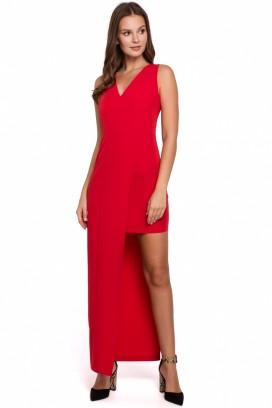 Červené spoločenské šaty model 138703 MR